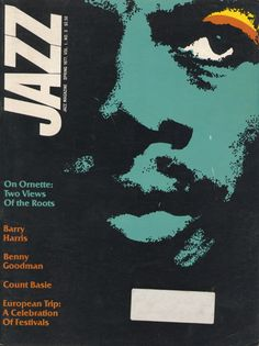 Great cover for Jazz Magazine spring 1972. Uncredited.