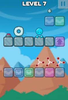 Jelly Jumper At Cool Math Games Jump On Each Of The Blocks To Destroy Them And Open A Portal Next Level Don T Get Trapped Too Far From