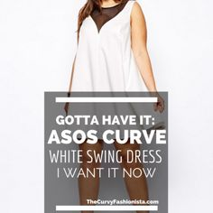 Gotta Have It: ASOS Curve White Swing Dress with Mesh March 27, 2014 by Marie Denee 4 Readers Sounding Off! Leave Your Thoughts!