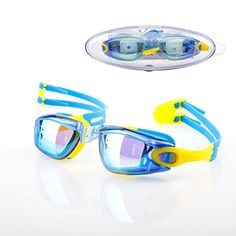Swim Goggles Yannic 20 Swimming Googles for Kids and No Leaking Anti Fog UV Protection * Click image for more details.Note:It is affiliate link to Amazon.