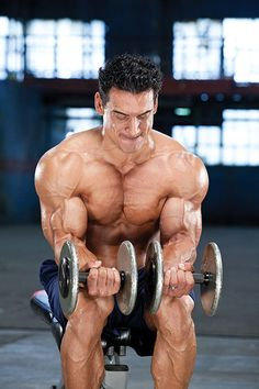 Complete Upper-Body Dumbbell Workout - includes description, pictures, and tips. - MuscleMag