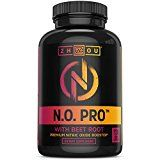 Nitric Oxide Supplement with L Arginine Citrulline Malate AAKG and Beet Root  Powerful N.O. Booster and Muscle Builder for Strength Blood Flow and Endurance  120 Veggie Capsules