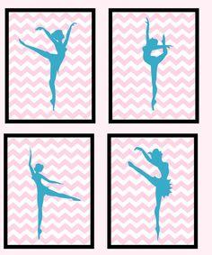 Ballerina Teen Tween Dance Art Canvas by ImagineThatOriginals, $40.00