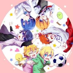 Starish as little kids. -- Anime, Uta no Prince-sama, Maji Love 1000%, season, fan art, children, cute, characters