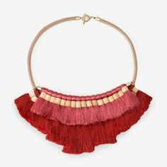Can't wait till my new statement necklace arrives! Kate Spade Saturday