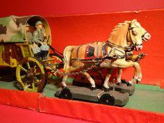 Elastolin Hausser Feldwagen-Gespann im 7,5 cm Maßstab OKT | eBay