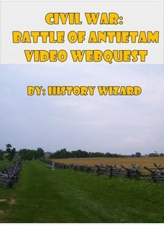 and answer the questions. The video is from a series by the Civil War ...