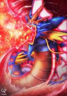 MEGA GYARADOS - HYPER BEAM ATTACK!!! by CHOBI-PHO on DeviantArt