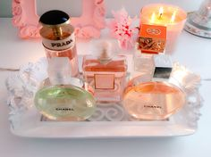 Organización de perfumes