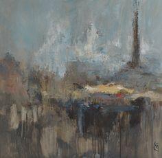 Colin Merrin 2016. Column. Oil on canvas