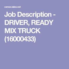 Dump Truck Driver Job Description Under Fontanacountryinn Com