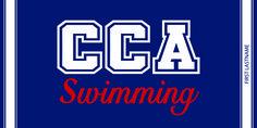 CCA Swimming  Swim team towels Custom swim team towels Personalized towels Personalized beach towels Custom beach towels Custom woven towels Oversized beach towels http://customwoventowels.com