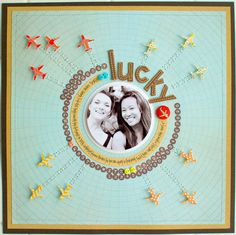 (Kelly Purkey) Fun circular design with lots of movement. #12x12
