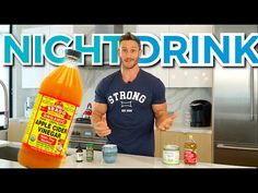 Apple Cider Vinegar Night Time Drink Recipe - YouTube Apple Cider Vinegar Benefits, Apple Vinegar, Thomas Delauer, Vinegar With The Mother, Low Carb Cocktails, Keto Drink, Fat Burning Drinks, Healthy Drinks, Healthy Nutrition