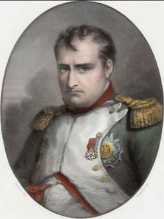 Napoléon (1815) par Goutière d´après Sandoz. 1837