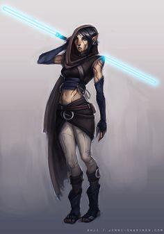 Jedi Stalker Ahji by echostain on deviantART