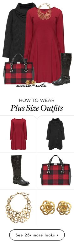 """""""Circle Necklace - Plus Size"""" by amo-iste on Polyvore featuring Kekoo, Manon Baptiste, Oscar de la Renta, French Blu and Dsquared2"""