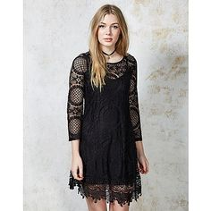Hearts and Bows Vanity Lace Dress #lace #dress #crochet