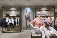 House of Gerry Weber, Cologne (Germany) #fashion #gerryweber #retail #lighting #beleuchtung #licht