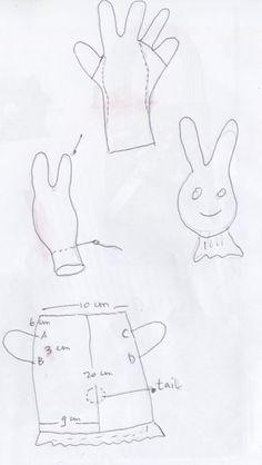 glove to rabbit