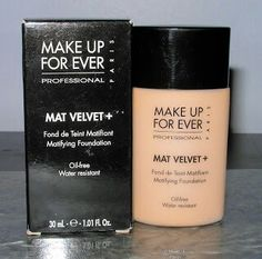 Make Up Forever Mat Velvet+. Is my favorite foundation it is thick full coverage and does make your face matte. It is sweat proof but I do not recomend this for dry skin it will look patchy. It also stays on all day especially with setting powder.