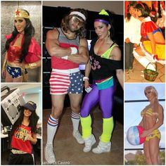 It's always time for a #throwback ! Should have posted yesterday but I forgot lol - some costumes I worn for Halloween (except the middle one which was my bday party). Barbie rapper Snow White Wonder Woman and fitness from the 80's lol. What about next year? What will we be @maguilaovitaflex @ourlifewithvicky ?  ____________________  Sempre dá tempo de fazer uma #retrospectiva! Tudo bem que deveria ter postado ontem mas esqueci kkkkkk. Algumas fantasias que usei de halloween (exceto a do…