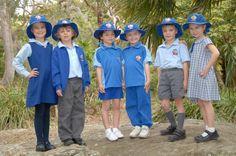 #Schuluniform einer Schule in New South Wales, Australien