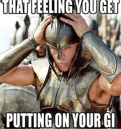 Putting on a Karate Gi and feeling like a Warrior! Fitness Workouts, Humour Fitness, Gym Humour, Fitness Motivation, Fitness Memes, Funny Fitness, Fitness Fun, Funny Gym Motivation, Health Fitness