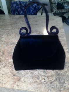 Victoria's Secret Little Black Purse (feels like velvet) #VictoriasSecret #Clutch