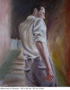 Magda Vacariu Contemporary Portrait Painter Artist Painter Artist, Contemporary, Portrait, Painting, Headshot Photography, Painting Art, Portrait Paintings, Paintings, Painted Canvas