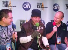 Christian Kane doing interview with ???  dont know who to credit pic