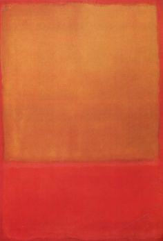 1954 Ocre (Ocre, rojo sobre rojo) - Mark Rothko - Buscar con Google