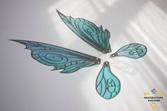 Rainbow Iridescent fairy wings cosplay props