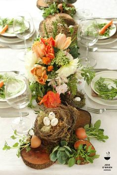 A Stroll Thru Life: How To Ideas For Beautiful Easter Tables