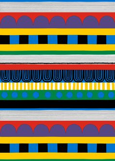 marimekko (マリメッコ) 日本公式サイト Product: RYIJY fabric Price: ¥5,250 / m Pattern: RYIJY (リィジィ)/ウォールラグ(フィンランドのタペストリー)/2011 Pattern Designer: Maija Louekari Material: 100% heavyweight cotton Repeat: 131 cm