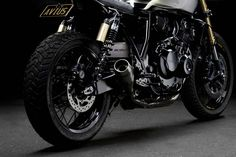 The Scout - Honda CB400 Cafe Racer ~ Return of the Cafe Racers