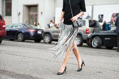 Pin for Later: It-Bags, Shoe Porn und all' die anderen coolen Accessoires der New York Fashion Week Accessoires Street Style bei der New York Fashion Week Gucci Tasche