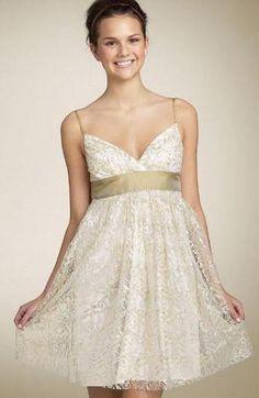 Cute Elegant Short Wedding Dresses