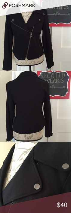 Thalian Motorcycle Jacket Super cute moto jacket. It's a blazer in motorcycle style. New with tags. Thalian Jackets & Coats Blazers