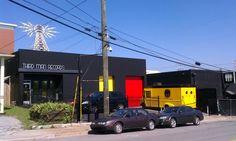 NASHVILLE, TN: Outside Jack White's Studio/record store