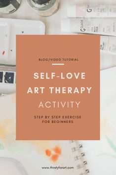 Self Love Art Therapy Activity - If you are struggling with practicing self-love, join me in this step by step art therapy activity - Art Therapy Projects, Art Therapy Activities, Therapy Tools, Therapy Ideas, Marker, Art Therapy Directives, Practicing Self Love, Creative Arts Therapy, Stress