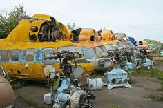 Abandoned Helicopters: 22 Derelict Choppers and Rotorcraft Graveyards