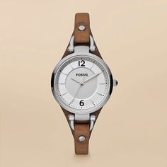 I love this fossil watch!    http://www.fossil.com/en_US/shop/women/features/new_arrivals/watches/georgia_leather_and_stainless_steel_watch_brown-es3060p.html?parent_category_rn=331183=331097=0=p_ws0%7C0%7C%7Cp_weight%7C0=c_vc=331184=47=ES3060