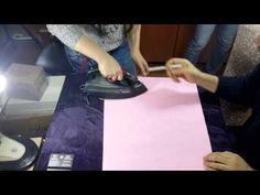 Kumaş ve Keçeleri Isıyla Yapıştıran BSN Film - YouTube