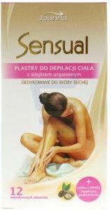 Joanna Sensual plastry ciała z olejkiem arganowym
