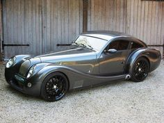 2009 Morgan Aeromax the shape is gorgeous, so sleek and curvy, they remind me of something that batman baddie the penguin should step out of!