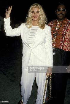Anna Nicole Smith during American Booksellers Association Convention - May 28, 1994 at Los Angeles Convention Center in Los Angeles, California, United States.