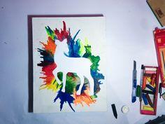 Tutorial quadro aquarela.