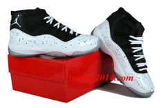 Nike Air Jordan XI Mens Shoes 2014 New Release White Black