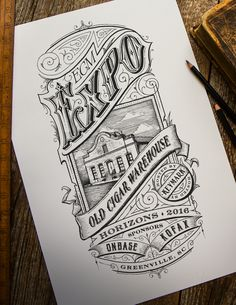 Old Cigar Warehouse Expo Victorian Vintage Illustration on Behance